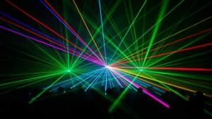 Oogschade door een lasershow